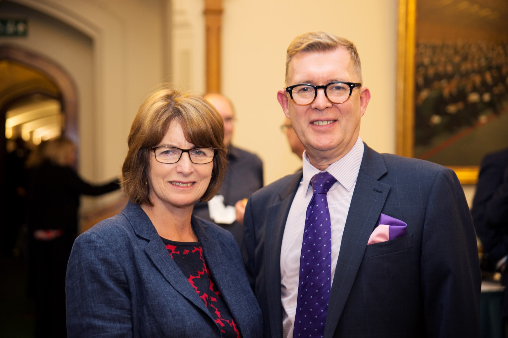 Photo of Councillor Jamie Macrae, Cheshire East Council (now retired), former Chair of PATROL Joint Committee with Louise Ellman, former MP for Liverpool Riverside