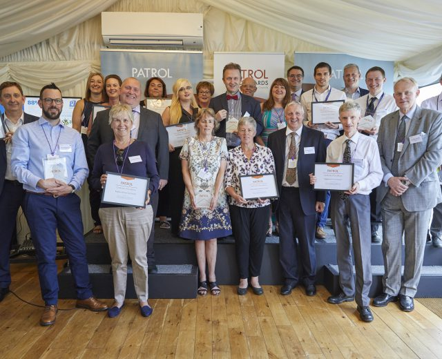 Group photograph of all winners at the PATROL Parking Annual Reports by Councils (PARC) Awards 2019